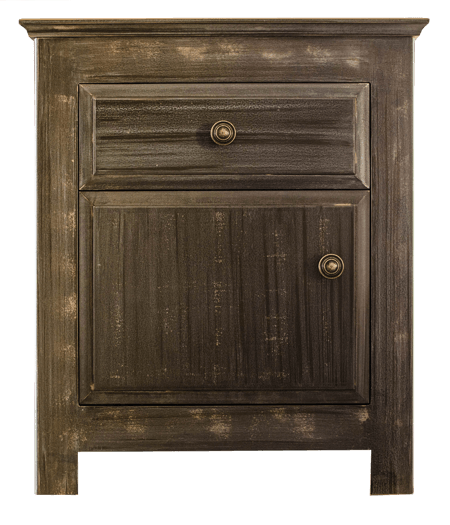 Coffee Door and Drawer Pedestal