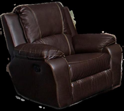 Calgan Static Leather Upper Chair