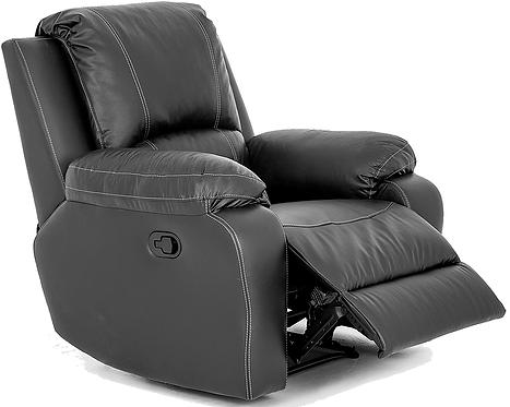 Calgan Recliner Leather Upper Chair