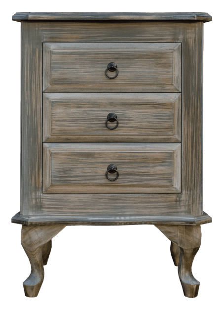 Old Mill 3 Drawer Pedestal