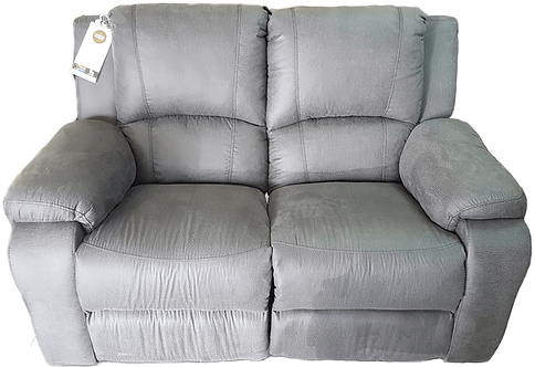 Calgan 2 Seater Static Fabric Couch