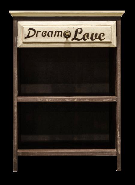 Clarens Dream 1 Drawer Pedestal