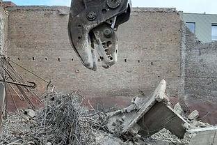 Afbraak beton- en metaalconstructies
