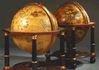 Stampart Antiquair - Antieke wereldbol
