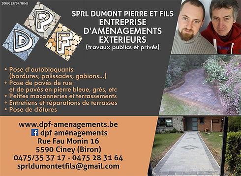 Dumont Pierre & Fils - Terrasses - Clotures - pavés de rue