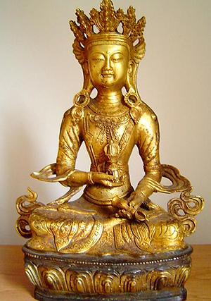Stampart Antiquair - Standbeeld Vajrasattva Tibet