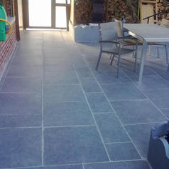 terrasse céramique italienne - Aménagements extérieurs - Dumont Pierre & Fils