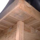 Dakbedekking houten bijgebouw Hechtel Eksel