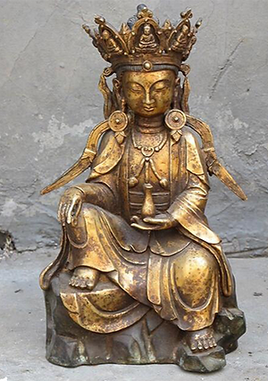 Stampart Antiquair - Bronzen Boeddha