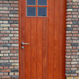 Houten buitendeur