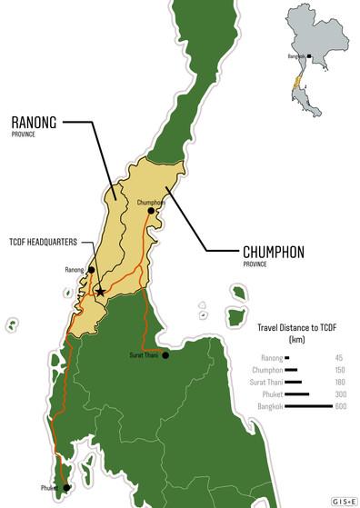 Location Map - Thai Child Development Foundation