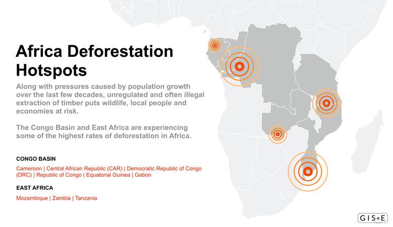 Africa Deforestation Hotspots