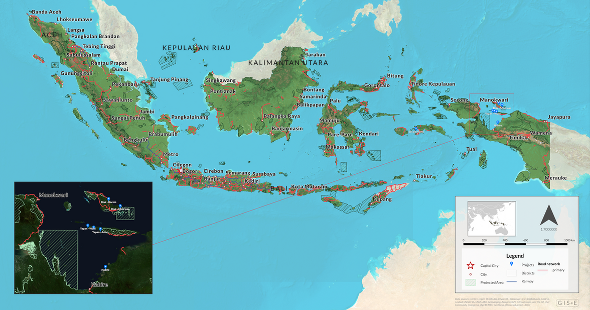 Location Map - Indonesia