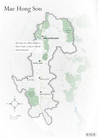 Location Map - Mae Hong Son