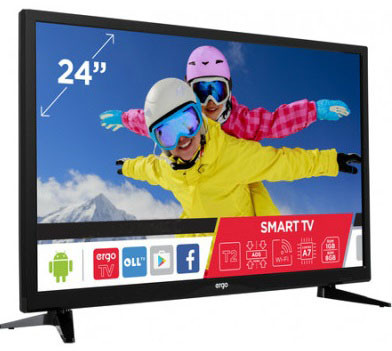 TV Ergo LE24CT5500AK -1