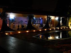 Festa elegante noite