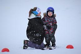 Мастер-класс по горным лыжам детей от 3-х до 8-ми лет