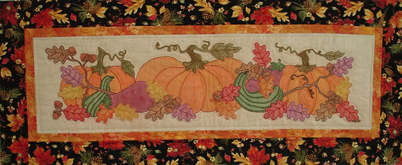 Color Me Fall tablerunner