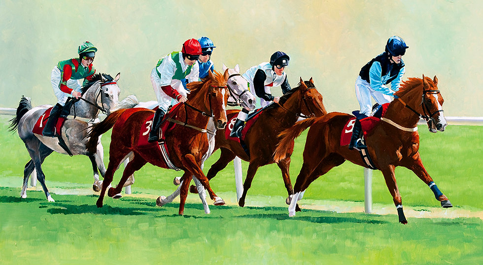 Racing Arabs