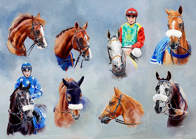 dubai day, newbury racecourse, ARO, arabian racing, arab racehorse, arab horse, kaokat mhf, vulkain du clos, gazwan, rasaasy,