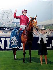 Star of Seville and Frankie Dettori