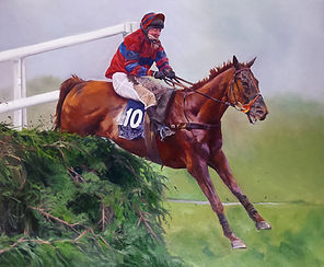 Racehorse Red Marauder