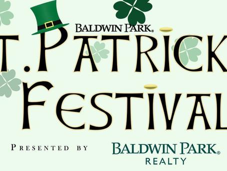 Baldwin Park St. Patrick's Festival - Saturday, March 14, 2020
