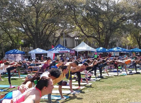 6th Annual It's Just Yoga Health & Fitness Festival - Sunday, March 8, 2020