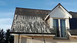 Roof cleaning in Sussex