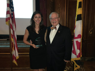 Victoria Ballestero named Young Engineer of the Year in MD