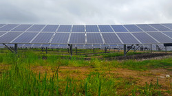 Commercial Solar Array Field