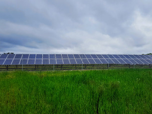 Going Green: Solar Array Field in Baltimore County