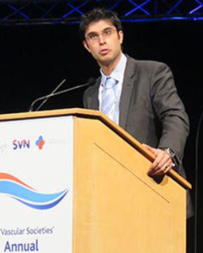 Mr Ankur Thapar, Vascular surgeon, speak