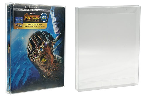 Malko Blu-ray & UHD Steelbook Protector Case for Standard G2 Movies