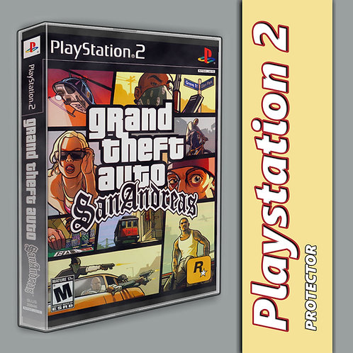 Playstation 2 Game Protector Case
