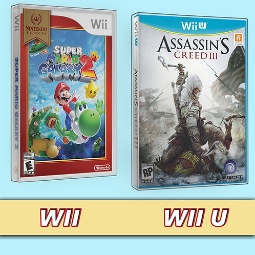 WII game box protector