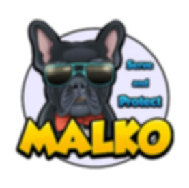 Malko serve and protect logo