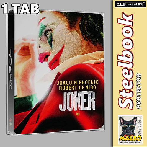 Malko Blu-ray & UHD Steelbook Protector Case - 1 TAB