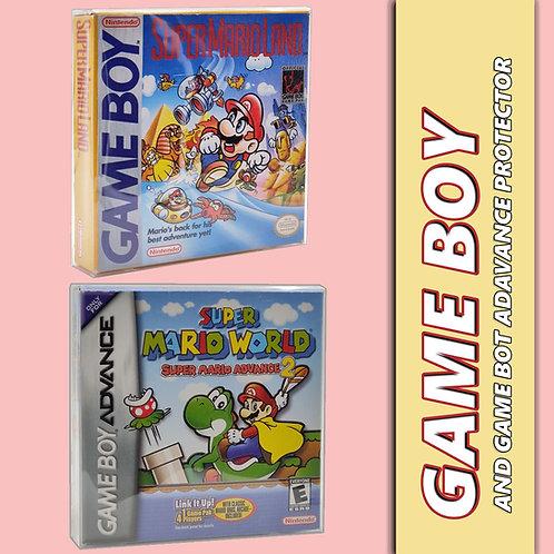Game boy game protector case