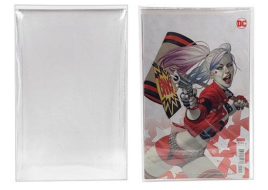 Comic Book Top Loader Protector Sleeve Display Case for Actual Comics