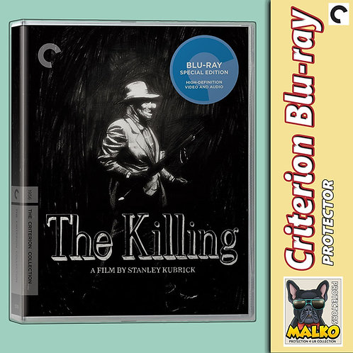 Malko Criterion Standard Blu-Ray Protector Case - 2 TABS