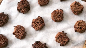 Double Choc Chickpea Cookies