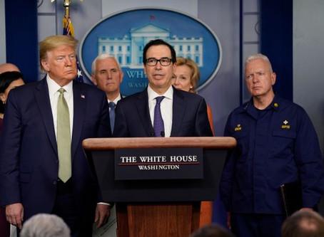 """Gli USA lanciano un piano di sostegno """"illimitato"""" all'economia"""