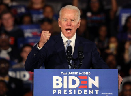 Rieccolo! Dal super tuesday rinasce Joe Biden