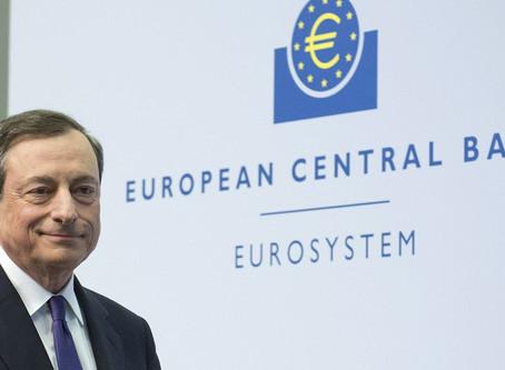 Un Draghi avanza nel buio della notte