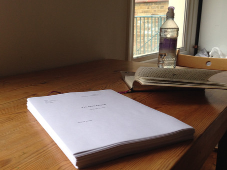 On Finishing a First Draft