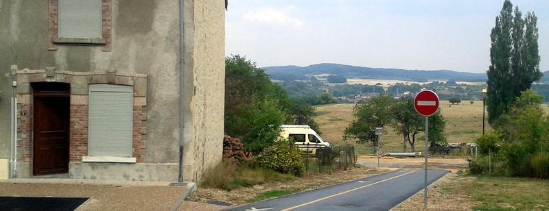 Levé intérieur Cornay Ardennes Angle et Mont
