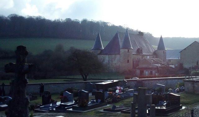 Elan (ardennes) château abbatial