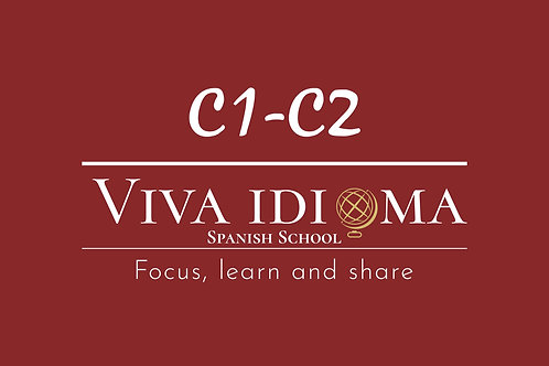 Spanish group course C1-C2 (online)