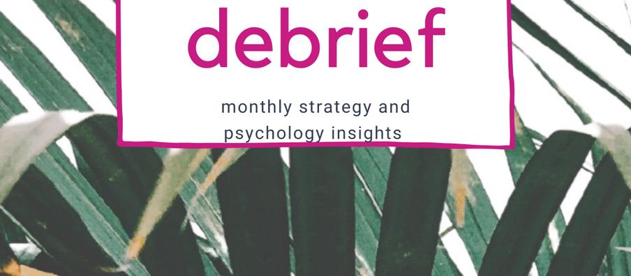 The Debrief - March